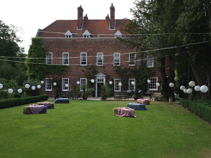 Bardney Hall garden
