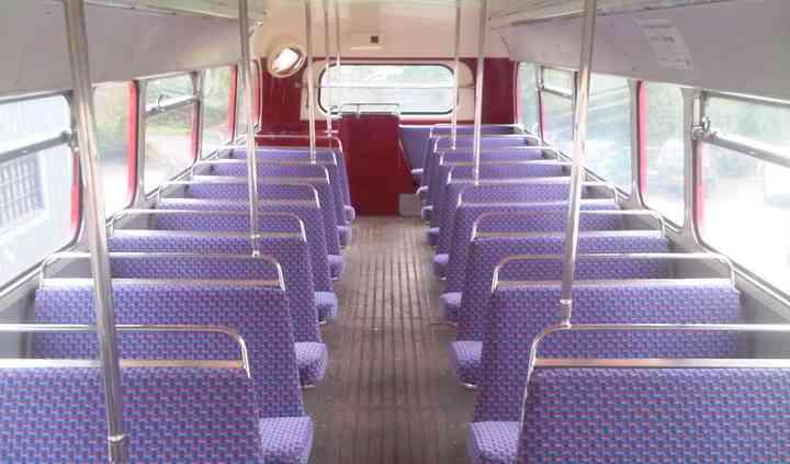 London Routemaster Interior