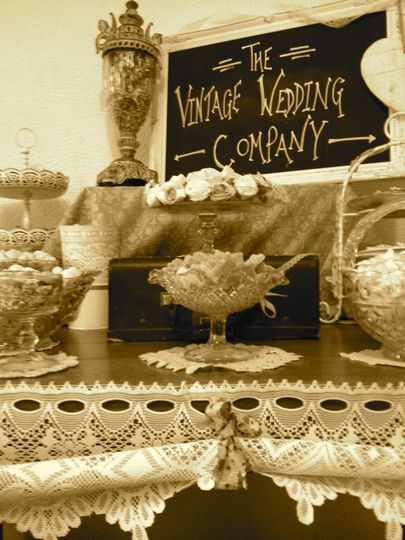 The vintage wedding company