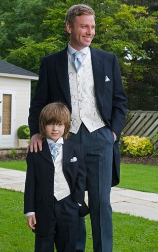 Groom & page boy's outfit