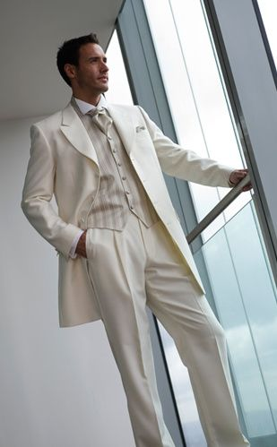 Classy ivory suit