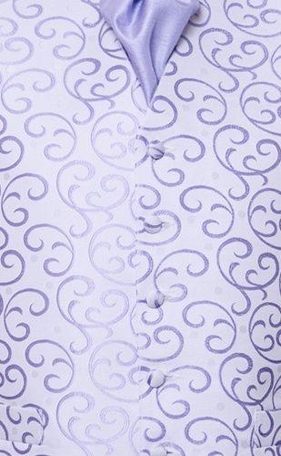 Lilac swirl waistcoat