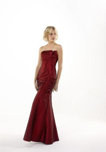 Drew burgundy dress