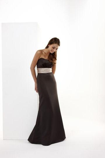 Sue brown dress