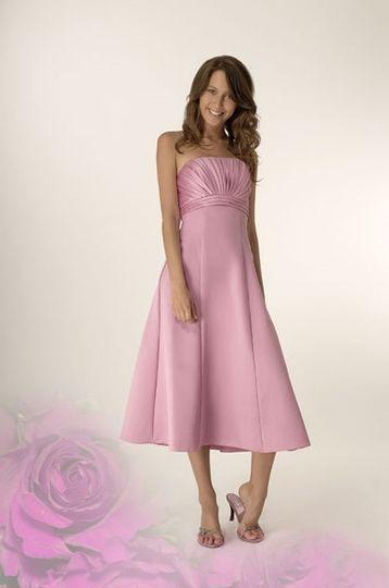 Zola pink dress