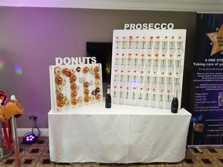 Donut & Prosecco