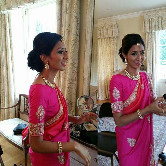 Engagement Bridal Make-up