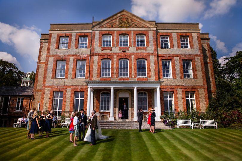Ardington House South Lawn