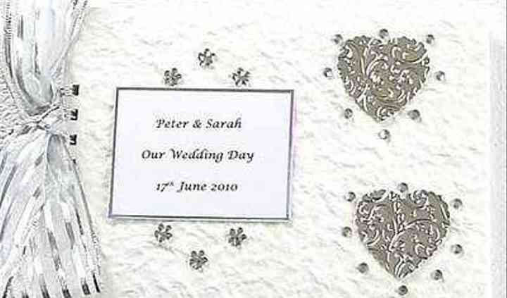 Silver Personalised Wedding