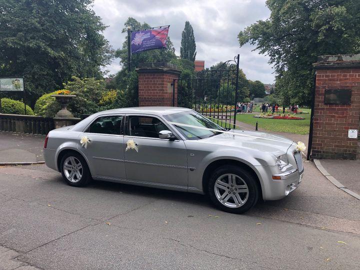 Chrysler 300C Wedding Car