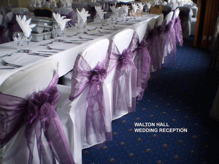 Walton Hall - Chair Covers
