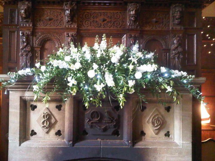 Gorgeous fireplace arrangement