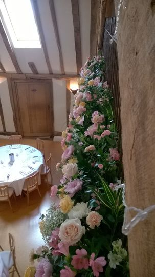 Venue Flowers at Moreves Barn