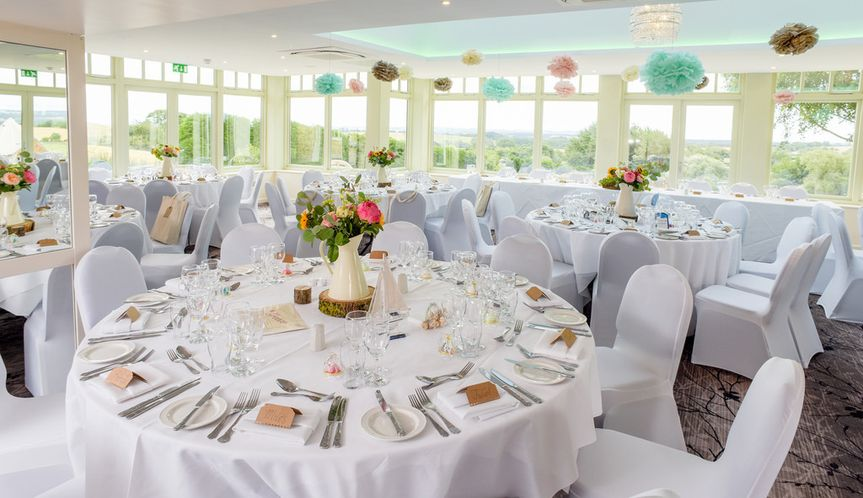 Orangery Wedding Set up