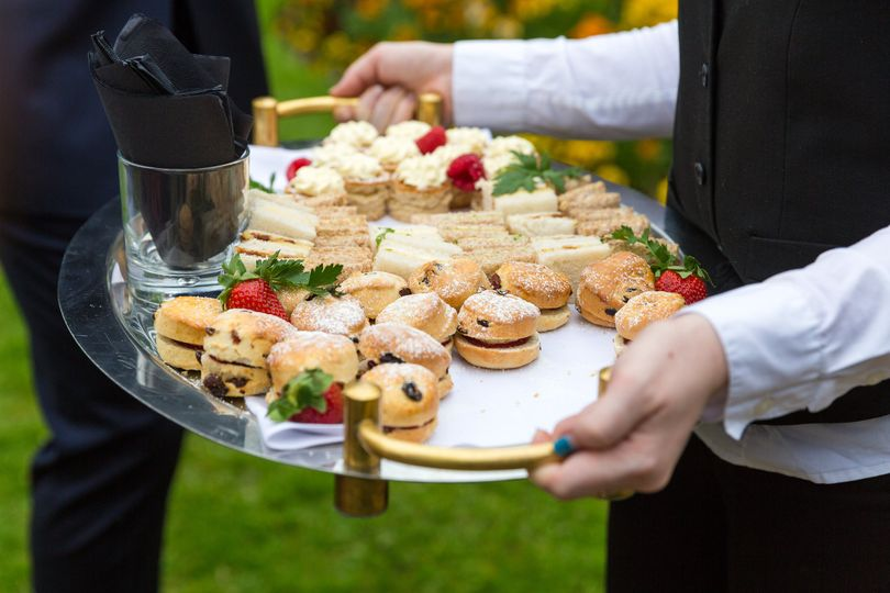 Afternoon tea canapes