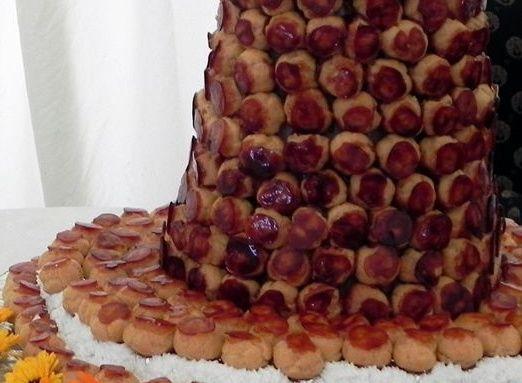 Croque en Bouche cake
