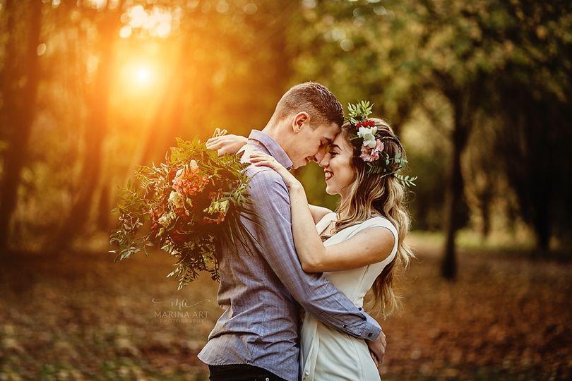 Autumn elopment