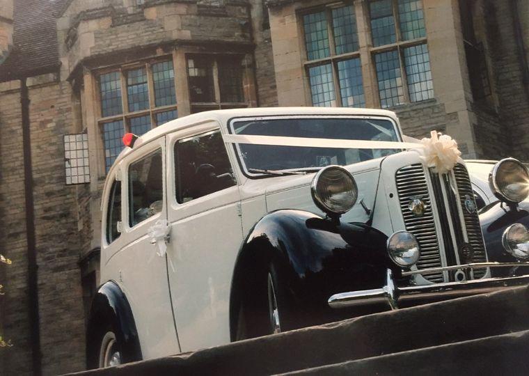 1956 Austin limousine