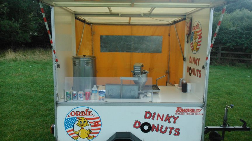 Matt's donut trailer van hire