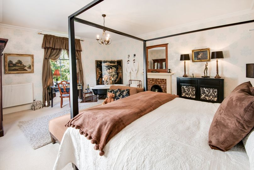 Beautiful luxurious bedrooms