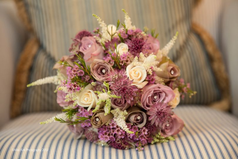 Natural hand tied bouquet