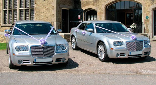 Matching Chrysler Wedding Cars