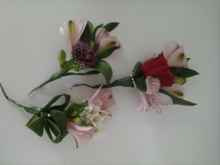 Lovely buttonholes