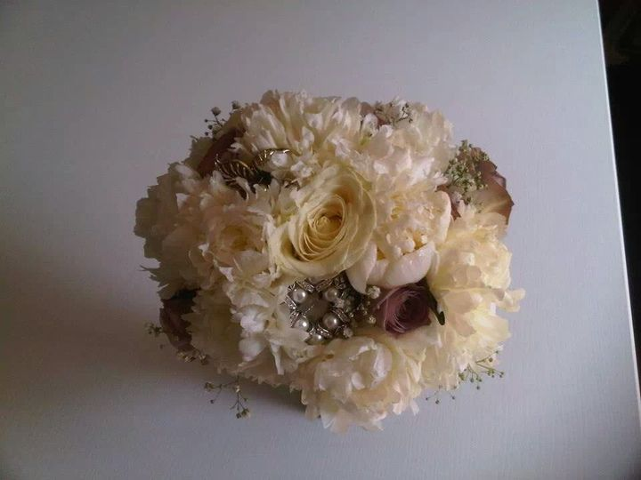 Vintage with broaches