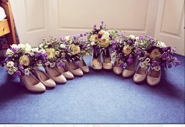 Flowers and shoes!!