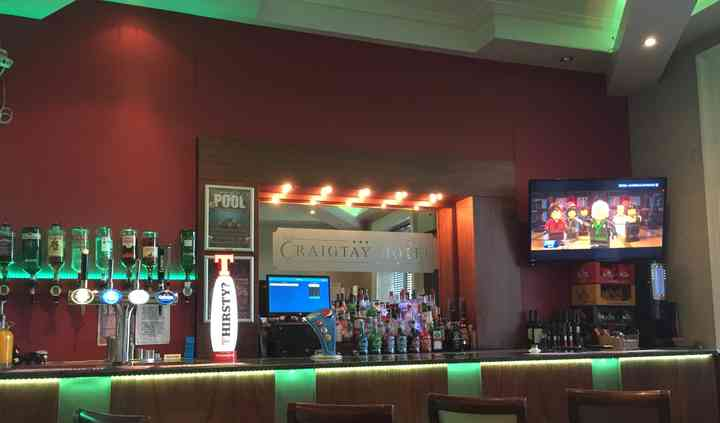 Highland lounge bar area