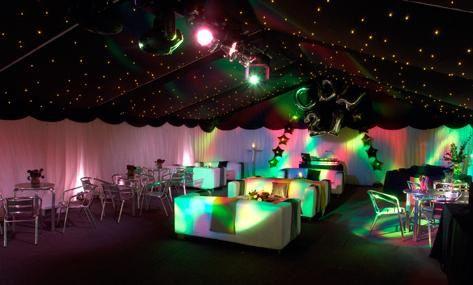 Lighting for weddings