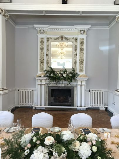 Beamish Hall Fireplace