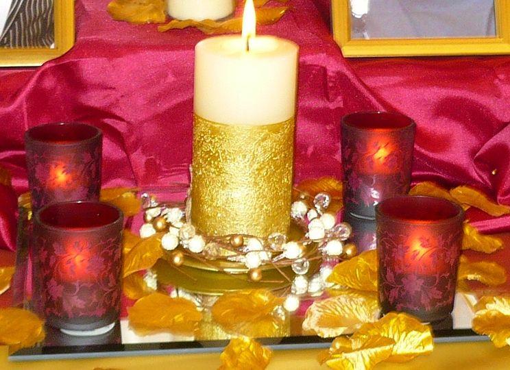 Memorial table decor