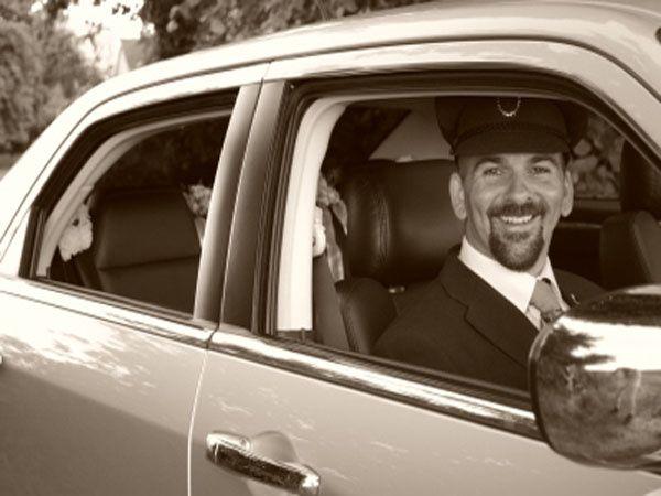 Uniformed chauffeur