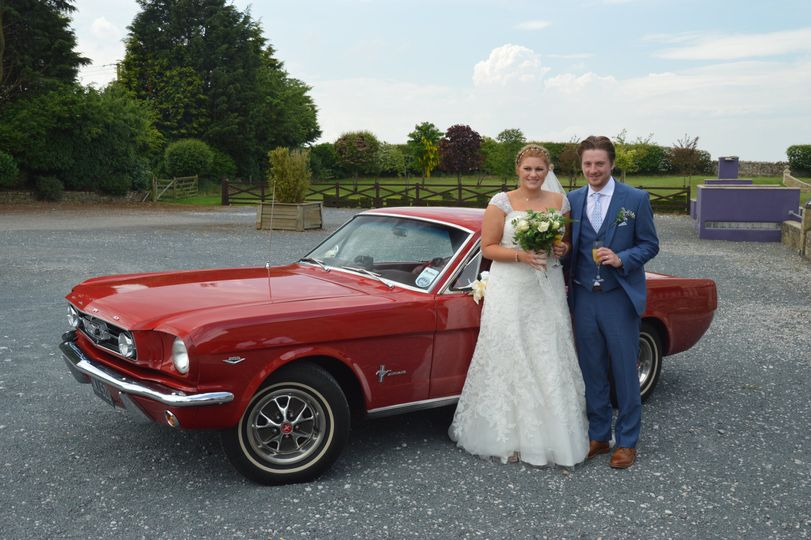 Our first mustang wedding