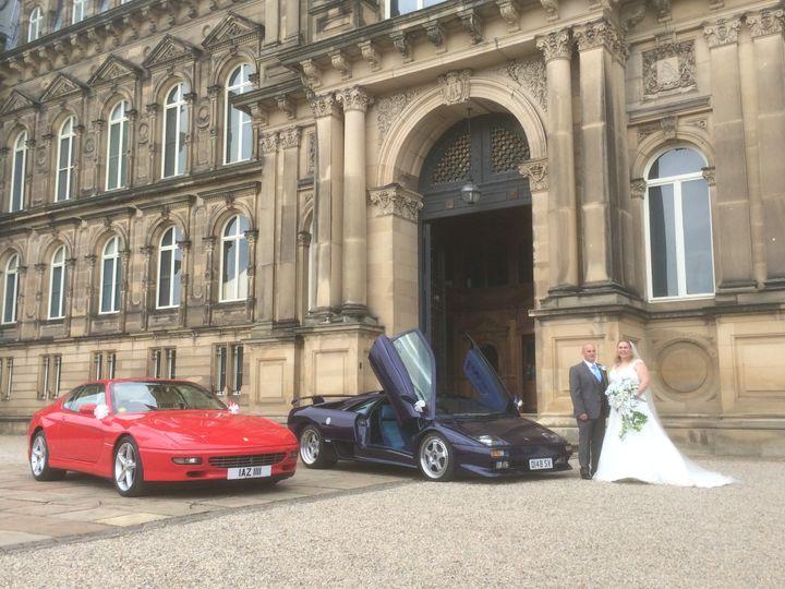 Double car wedding