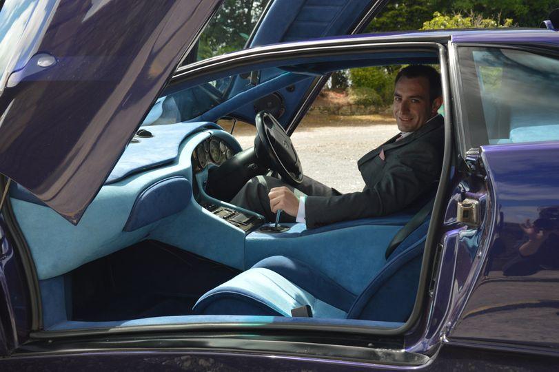 Ste takes the wheel