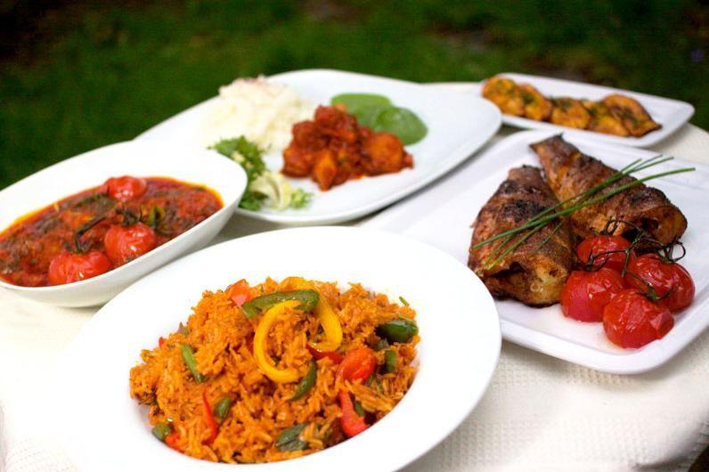 African Wedding Food