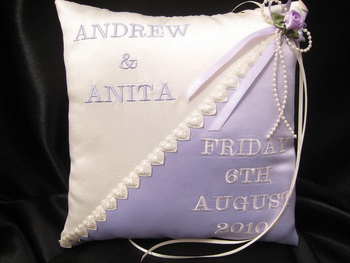 Two Tone Ring Cushion