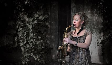 Sarah On Sax
