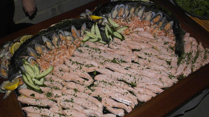 Salmon mirror