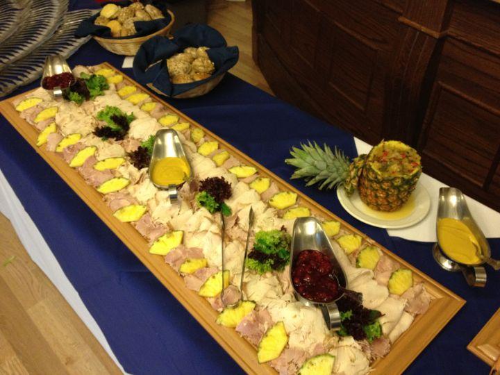 Part of gala buffets