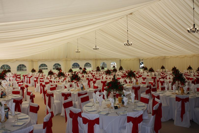 One of our larger Marquees