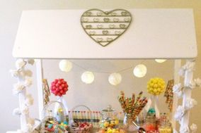 Sweet Hearts Candy Carts