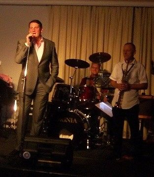 Playing with Tony Hadley of Spandau Ballet at a Wedding
