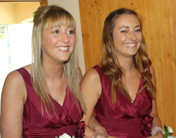 Natural look-Bridesmaids