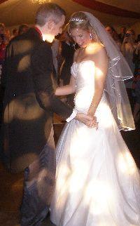 A magical first dance