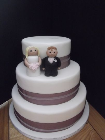 Three Tier Wedding Cake from £175