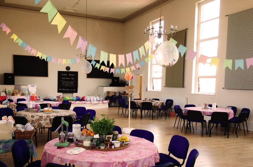 Main ballroom - Craft party