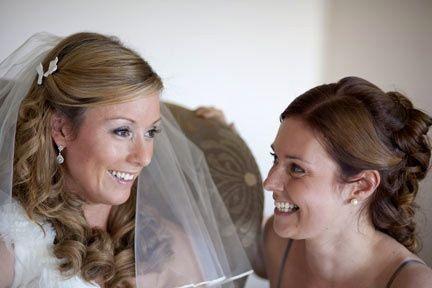 Bride & Bridesmaid Soft Curls